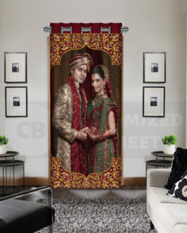 Custom Curtains Online Couple Just Married